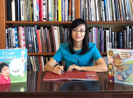 Interview with a STEM Author: Songju Ma Daemicke