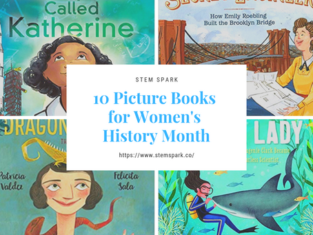 10 STEM Picture Books for #Women's History Month