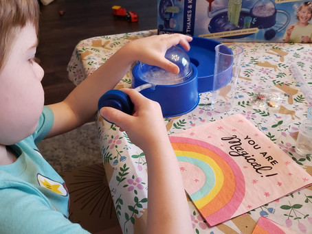 STEM Product Review: Bubble Science Lab Plus #Giveaway