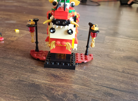 STEM Product Review: Lego Dragon Dance Guy Plus #Giveaway