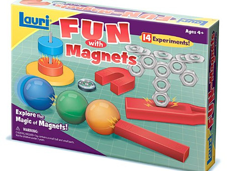 STEM Product Review: Magnet Experiment Kit Plus #Giveaway