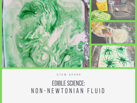 Edible Science: Non-Newtonian Fluid, aka Oobleck