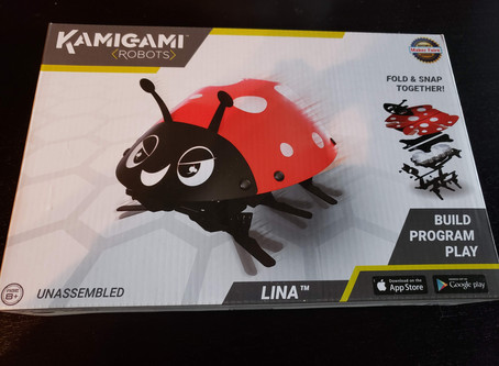 STEM Product Review: Kamigami Robot Lina Ladybug Plus Giveaway!