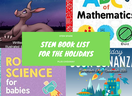 STEM Book List for the Holidays Plus Giveaway