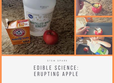 Edible Science: Erupting Apples