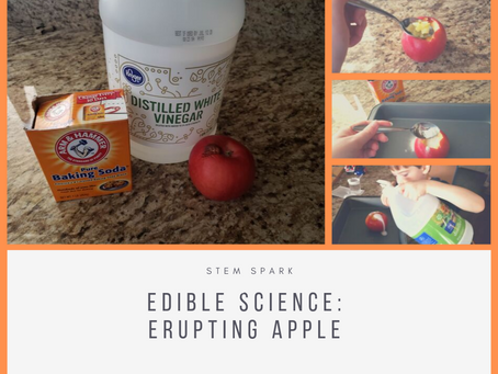 Edible Science: Erupting Apples