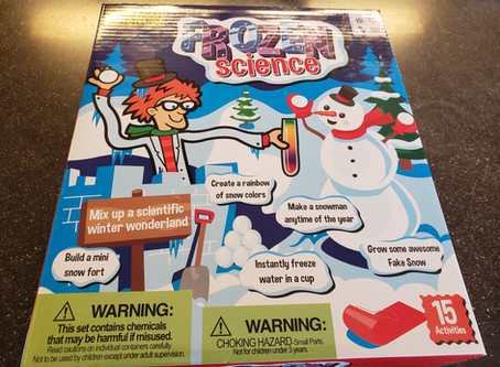 STEM Product Review: Frozen Science (Kit) Plus #Giveaway