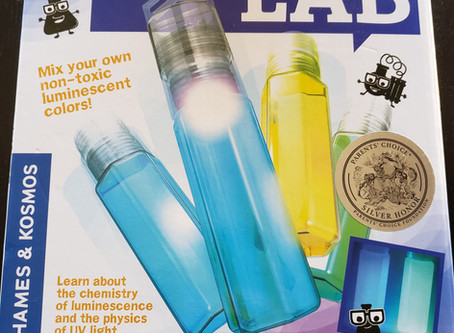 STEM Product Review: Glow Stick Lab PLUS #Giveaway