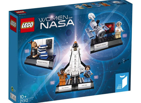 STEM Product Review: Women of NASA Lego #WomensHistoryMonth