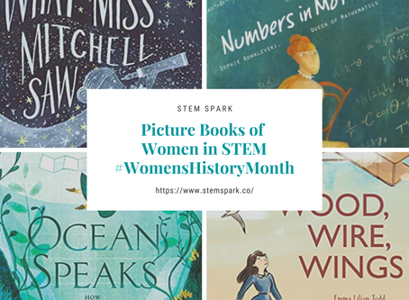 Picture Books Featuring Women In STEM Plus #Giveaway