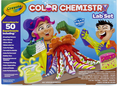 STEM Product Review: Crayola Color Chemistry Lab Set Plus Giveaway
