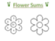 Flower Sums Worksheet 1.png