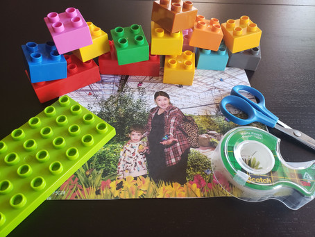 STEAM Activity: Easy Duplo Frame