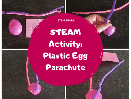 STEAM Activity: Plastic Egg Parachute