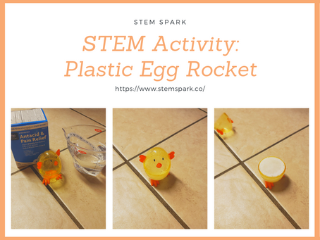 STEM Activity: Plastic Egg Rockets