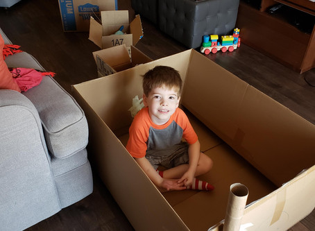 STEAM Activity: What can you make with a cardboard box?