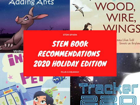 STEM Book Recommendation: 2020 Edition Plus #Giveaway