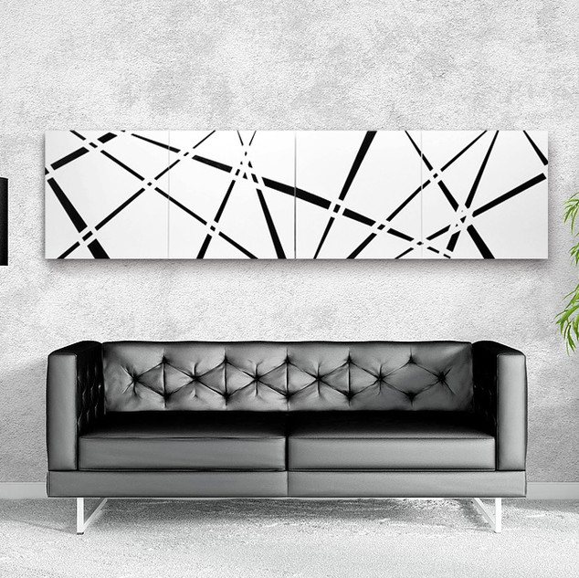 SOLD_Cutting Edge - Tetraptych