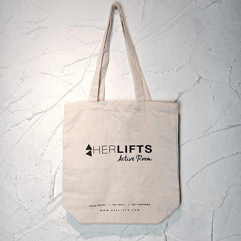 Herlifts Natural Canvas Tote Bag