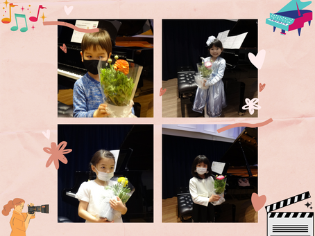 ♪小金井市ピアノ教室♪チョコ以外のバレンタインデ-プレゼント『ピアノ演奏動画』