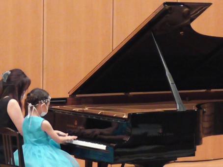 ♪小金井市ピアノ教室♪「緊張感の中でやりきった演奏」初めてのピティナステップ!