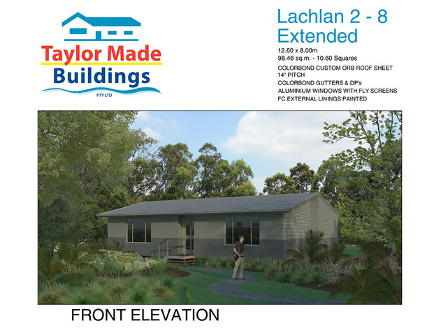 Lachlan 2/8 Extend