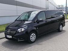 Mercedes Vito 9-pax rental Warsaw