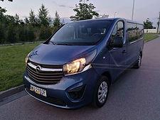 Opel Vivaro 9-pax rental Warsaw