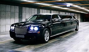 Chrysler limousine hire Krakow Airport