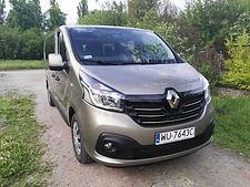 Renault Trafic 8-pax rental Warsaw 1