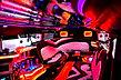 25 passenger Hummer double axle Modlin Masovia Airport rent WMI interior