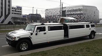 18 passenger Hummer in Krakow