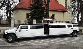 18 passenger Hummer H2 stretch Katowice & Krakow