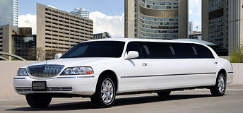 10 passenger Lincoln stretch limousine in Gdansk
