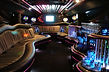 Hummer stretch limo interior 1