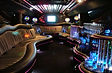 Gdansk Black Hummer H2 stretch limo interior 1