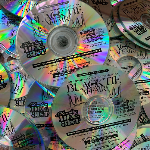 BLACK THERMAL TEXT CD DUPLICATIONS