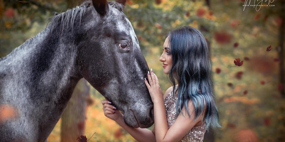 Tematické a Fantasy focení s koňmi