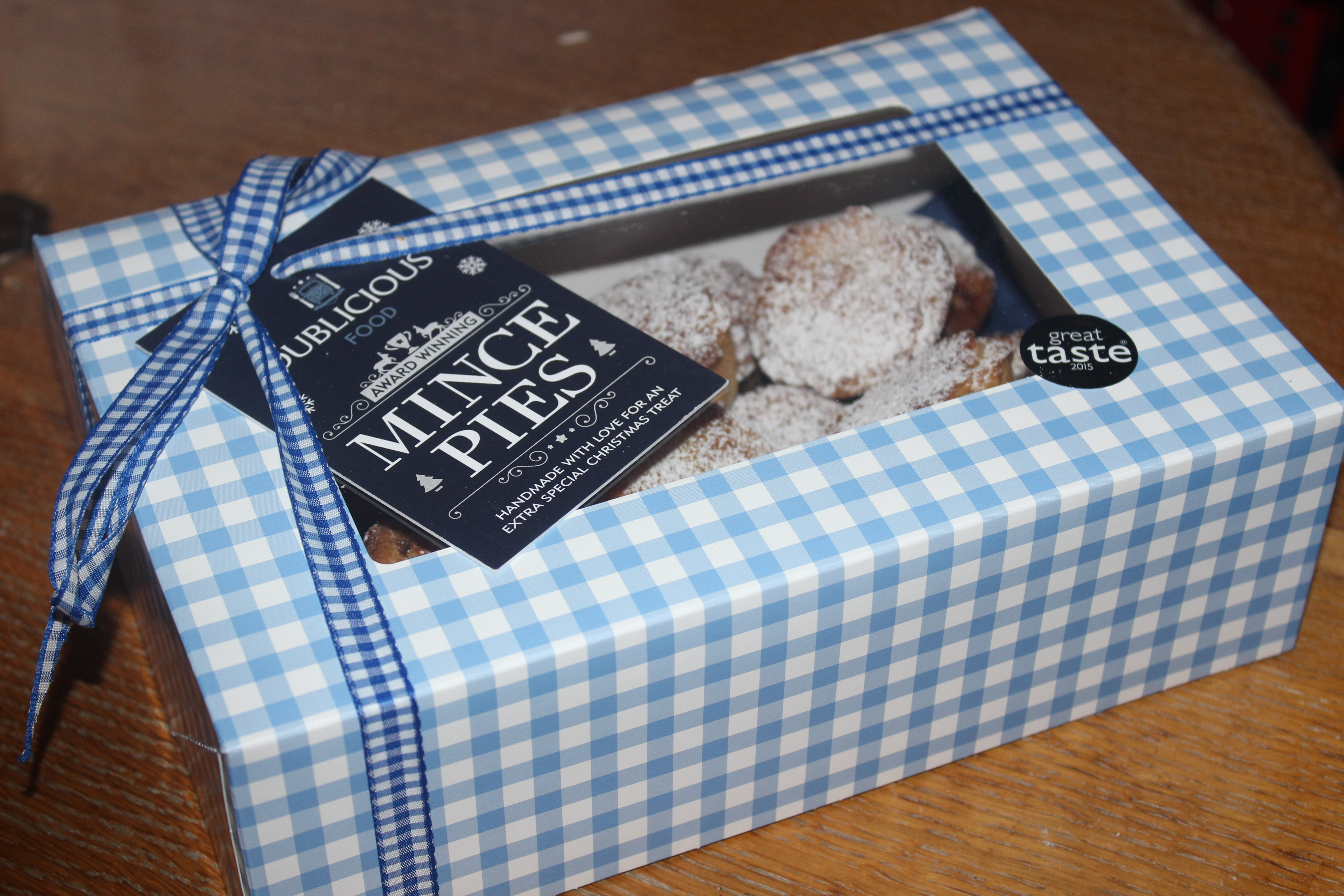 Mini Mince Pies Box