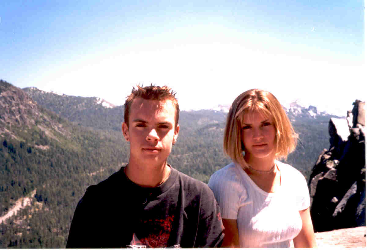 Brad and Jess in Yosemite, June 1999