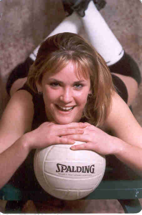 volleyball picture - Spring 1999