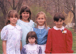 Jessie -front-age 4 - with cousins