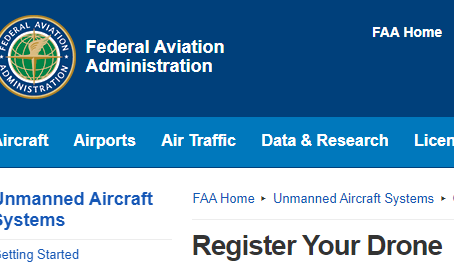 So you have a drone? Did you register it? Do you have your FAR 107 Certification?