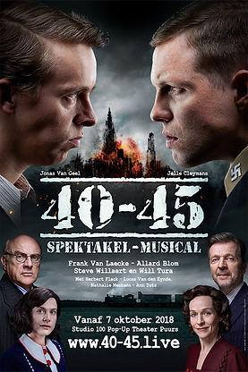 Musical 40-45 Studio100 oorlog