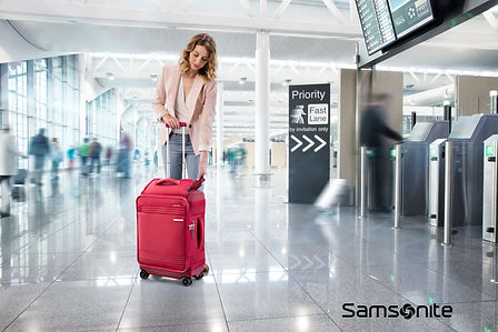 Samsonite Smart top travel suitcase