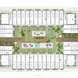 7_Cloistered Courtyard_Density and Urban