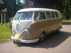 Click for VW wedding camper hire