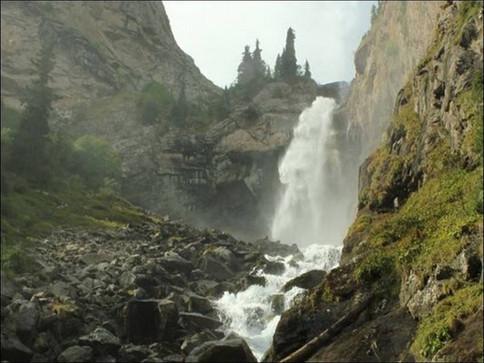 День шестой. Водопад Слезы Барса