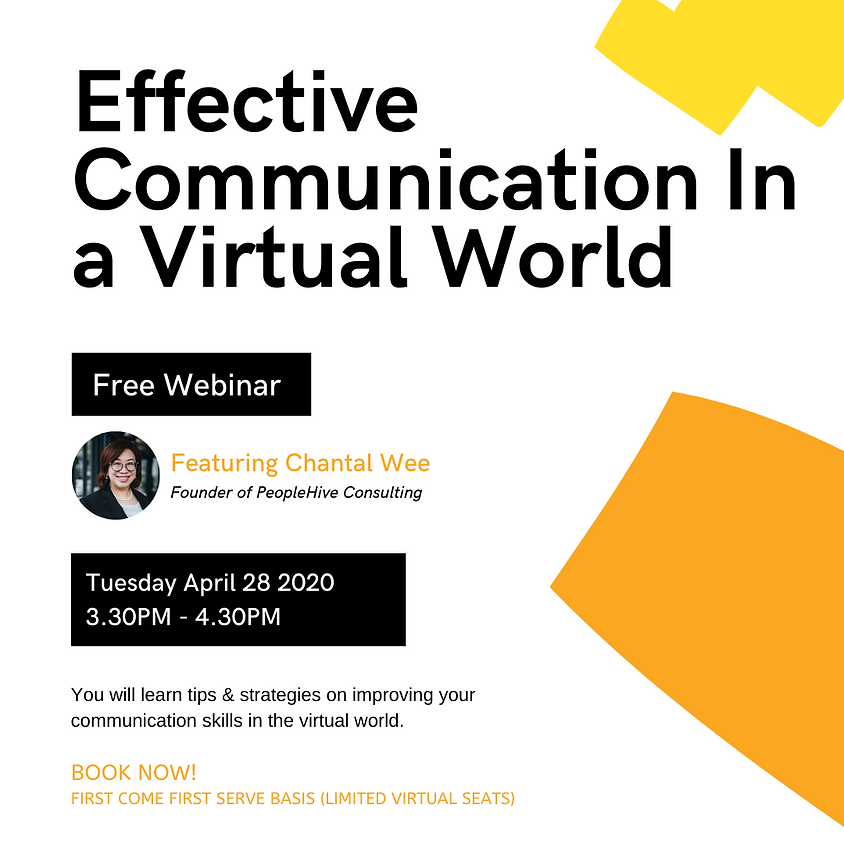 Communicating Effectively In A Virtual Environment
