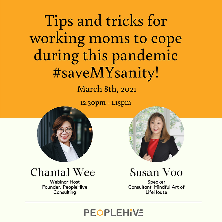 Tips and tricks for working moms to cope during this pandemic #saveMYsanity!